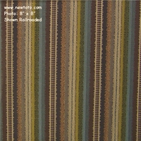 """Beach Blanket - Riviera"" Crypton� Stripe Upholstery Fabric from Anzea"