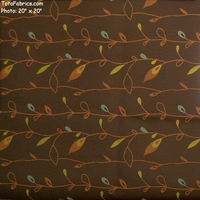 """Beanstalk - Vine"" Floral Crypton� Upholstery Fabric from Architex� International"