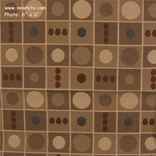 """Bento - Jazz"" Square and Dot Pattern Upholstery Fabric from Momentum Textiles"
