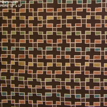 """Block Party - Godiva"" Colorful Geometric Upholstery Fabric from Arc-Com Fabrics, Inc"