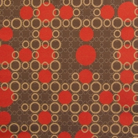 """Blowing Bubbles - 22"" Circle Upholstery Fabric from Carnegie Fabrics"