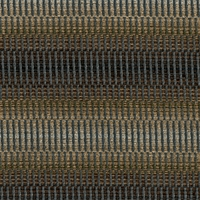 """Concord - Empire"" Handsome Blue-Brown Stripe Upholstery Fabric by Kalin Fabrics"