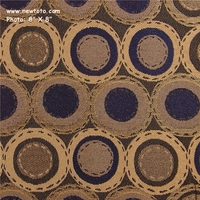 """Bottle Bank - Nightshade"" Durable Circle Design Upholstery Fabric from Arc-Com Fabrics, Inc"