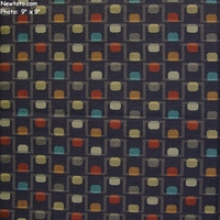 """Bridge and Tunnel - Midnight"" Geometric Fabric for Upholstery from Designtex�"
