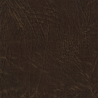 """Dive - Tobacco"" Handsome Brown Faux Leather Grain Vinyl Upholstery Fabric"