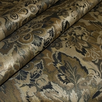 """Espirit - Vintage"" Luster Brown Floral Tapestry Fabric from Swavelle/Mill Creek"