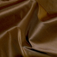 """Taffeta - Mustard"" Beautiful Rich Brown Silk Taffeta Fabric for Home Decor"