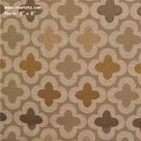 """Bunta - Oleander"" Lovely Clover Patterned Fabric for Upholstery from Designtex�"