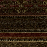 """San Juan - Ruby""  Burgundy Gold Brown Multi Stripe Chenille Upholstery Fabric"