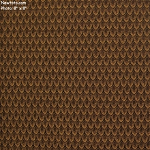 """Cathedral - Brass"" Woven Geometric Tapestry Fabric from National Furniture"