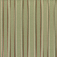 """Silk Taffeta - Sage"" Classic Celery Green Stripe Drapery Fabric for Home Decor"