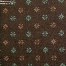"""Chicory - Winterleaf"" Small Flower Design Upholstery Fabric from Designtex�"