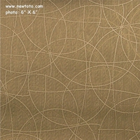 """Cirque - Champagne"" Circle Vinyl Upholstery Fabric from CF Stinson Inc"