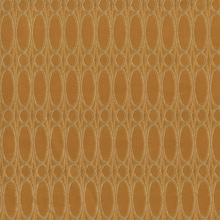 """Clarion - Butterscotch"" Gold Oval Design Fabric from Arc-Com Fabrics, Inc"