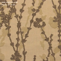 """Climb - Alibaster"" Floral Upholstery Fabric with Chenille from Maharam Fabric Co"