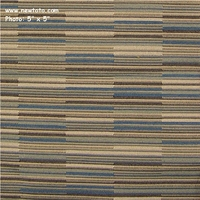 """Coincide - Mist"" Colorful Upholstery Fabric with Stripes and Lines from Maharam Fabric Co"