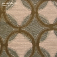"""Composition - Mist"" Upholstery Fabric with Circles and Diamonds from Pallas� Textiles"