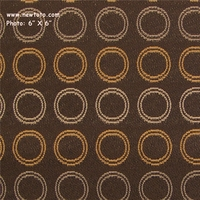 """Conservation - Root"" Colorful Circle Fabric for Upholstery from Designtex�"