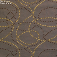 """Course - Pier"" Solid Color Fabric with Swirling Dots from Momentum Textiles"