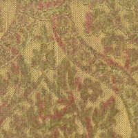 """Italiano - Misty"" Cut Velvet Damask Fabric For Vintage Decor and Upholstery"