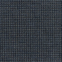 """Boxstitch - Navy"" Durable Dark Blue Chenille Furniture Upholstery Fabric"