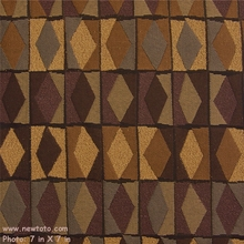 """Diamond Derby - Wild Plum"" Contemporary Geometric Design Fabric from Arc-Com Fabrics, Inc"