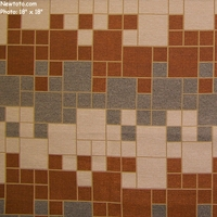 """Essay - Checkerboard"" Colorful Tile Design Upholstery Fabric from Architex� International"
