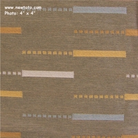 """etc. - Stone"" Staggered Geometric Stripe Fabric from Arc-Com Fabrics, Inc"