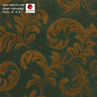 """Exquisite - Pine"" Crypton� Floral Fabric from Scott Fabrics"