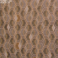 """Facet - Stone"" Geometric Upholstery Fabric from Arc-Com Fabrics, Inc"