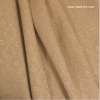 """Flickerite - Croissant"" Solid Lustrous Upholstery Fabric from Crestmont Fabrics LTD"