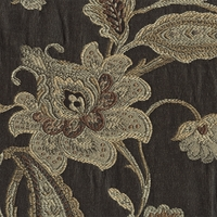 """Artanis - Indigo""  Jacobean Floral Upholstery Fabric by Swavelle/Mill Creek"