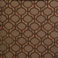 """""""Formula - Granite"""" Ogee Stripe Upholstery Fabric from Pallas Textiles"""
