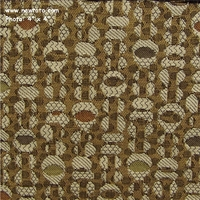 """Fox Trot - Almond Shell"" Durable Jacquard from Pollack Fabrics"