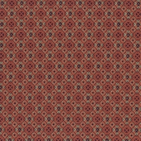 """Quad - Rose"" Jacquard Geometric Diamond Upholstery Fabric for Decor"