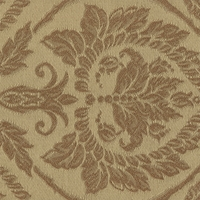"""Portland - Antique"" Timeless Gold Damask Upholstery Fabric for Home Decor"