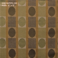 """Gotham - Sage"" Geometric Wool Blend Upholstery Fabric from Designtex�"