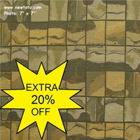 """""""Happenstance - Loden"""" High Performance Upholstery Fabric from DesignTex"""
