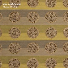 """Honor Plus - Pear"" Stripe and Dot Upholstery Fabric from Designtex�"