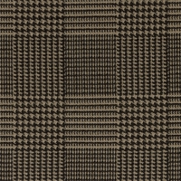 """Oliver - Tweed"" Classic Houndstooth Upholstery Fabric by Cone Jacquards"
