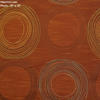 """Hula - Zinnia"" Circle Geometric Crypton� Upholstery Fabric from Momentum Textiles"