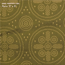 """Icon - Diana"" Vintage Circle Dot Design Upholstery Fabric from Knoll Textiles"