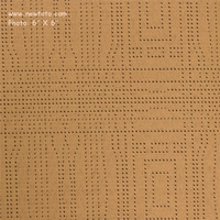 """Infusion - Sisal"" Crypton� with Geometric Dot Design from Momentum Textiles"