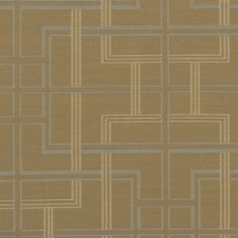 """Inhabit - Dune"" Crypton Green� Upholstery Fabric with Geometric Design from Momentum Textiles"