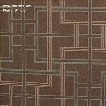 """Inhabit - Shale"" Crypton Green Geometric Upholstery Fabric from Momentum Textiles"