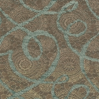 """Intricate - Mineral"" Designer Matelasse Upholstery Fabric by Valdese Weavers, LLC"