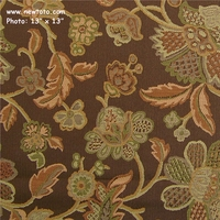 """Juliet - Godiva"" Floral Crypton� Upholstery Fabric from Arc-Com Fabrics, Inc"