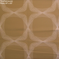 """Kinetic - Sand"" Geometric Upholstery Fabric from Arc-Com Fabrics, Inc"