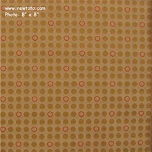 """Knack - Sax"" Solid Dot and Ring Upholstery Fabric from Momentum Textiles"