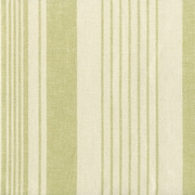 """Parkway - Ivory Kiwi"" Lovely Light Green Cotton Stripe Fabric for Home Decor"